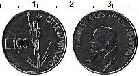Изображение Монеты Ватикан 100 лир 1991 Сталь UNC Иоанн Павел II