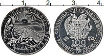 Изображение Монеты Армения 100 драм 2014 Серебро Proof