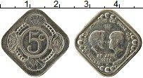 Изображение Монеты Нидерланды 5 центов 1980 Медно-никель UNC-