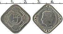 Изображение Монеты Нидерланды 5 центов 1978 Медно-никель UNC- UNUSUAL. Юлиана