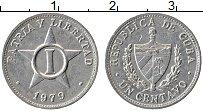 Изображение Монеты Куба 1 сентаво 1979 Алюминий XF