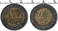 Изображение Монеты Мексика 5 песо 2009 Биметалл UNC 200 лет Независимост