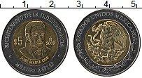 Изображение Монеты Мексика 5 песо 2009 Биметалл UNC