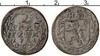 Продать Монеты Гессен-Дармштадт 2 крейцера 1744 Серебро