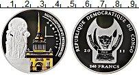 Изображение Монеты Конго 240 франков 2011 Серебро Proof