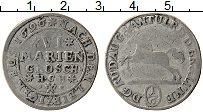 Изображение Монеты Брауншвайг-Вольфенбюттель 6 марьенгрош 1696 Серебро VF+
