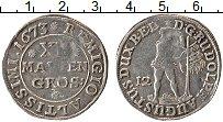 Изображение Монеты Брауншвайг-Вольфенбюттель 12 марьенгрош 1673 Серебро VF+ Рудольф Август