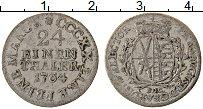 Изображение Монеты Саксония 1/24 талера 1764 Серебро XF EDC