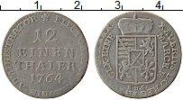 Изображение Монеты Саксония 1/12 талера 1764 Серебро VF+ EDC
