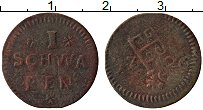 Изображение Монеты Германия Бремен 1 шварен 1726 Медь VF