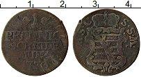 Продать Монеты Саксен-Кобург-Саалфелд 1 пфенниг 1770 Медь