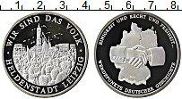Изображение Монеты Германия настольная медаль 1990 Серебро Proof Лейпциг