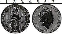 Изображение Монеты Великобритания 5 фунтов 2020 Серебро Proof