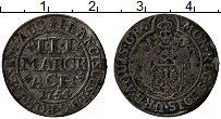 Продать Монеты Ахен 3 марки 1754 Серебро