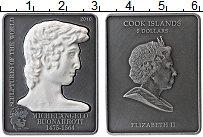 Изображение Монеты Острова Кука 5 долларов 2010 Серебро Proof Елизавета II. Мекела