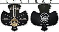 Изображение Монеты Либерия 10 долларов 2005 Серебро Proof Позолота. Стразы Сва