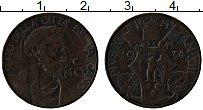 Изображение Монеты Ватикан 10 сентим 1934 Медь XF Пий XI