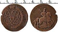 Продать Монеты 1741 – 1761 Елизавета Петровна 2 копейки 1758 Медь