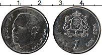 Изображение Монеты Марокко 1 дирхам 2002 Медно-никель UNC Мухаммед VI