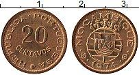 Изображение Монеты Мозамбик 20 сентаво 1974 Бронза UNC- Португальская колони