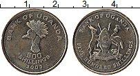 Изображение Монеты Уганда 500 шиллингов 2003 Латунь UNC-