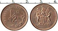 Продать Монеты Родезия 1/2 цента 1970 Медь