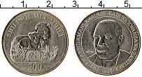 Продать Монеты Танзания 200 шиллингов 1998 Медно-никель
