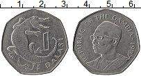 Продать Монеты Гамбия 1 даласи 1987 Медно-никель
