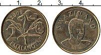 Изображение Монеты Свазиленд 2 эмалангени 2005 Медно-никель UNC-