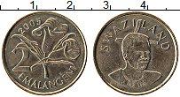 Изображение Монеты Свазиленд 2 эмалангени 2005 Медно-никель UNC- Мсвати III