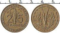 Изображение Монеты Западная Африка 25 франков 1978 Латунь XF