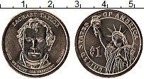 Изображение Монеты США 1 доллар 2009 Латунь UNC