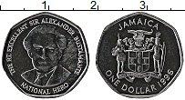 Изображение Монеты Ямайка 1 доллар 1996 Сталь UNC-
