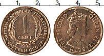 Изображение Монеты Карибы 1 цент 1965 Бронза UNC-