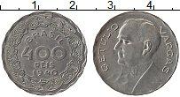 Изображение Монеты Бразилия 400 рейс 1940 Медно-никель UNC-