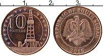 Продать Монеты Судан 10 пиастр 2015 Бронза