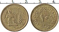 Изображение Монеты Египет 10 миллим 1976 Латунь XF