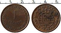 Изображение Монеты Ангола 1 эскудо 1956 Бронза XF- Португальская колони