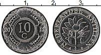 Изображение Монеты Антильские острова 10 центов 2012 Сталь UNC-