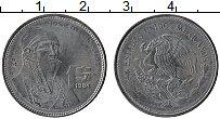 Изображение Монеты Мексика 1 песо 1984 Сталь UNC-