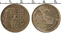 Изображение Монеты Мексика 100 песо 1990 Латунь XF