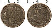 Изображение Монеты Мексика 100 песо 1984 Латунь XF Венустиано Карранса