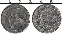 Изображение Монеты Мексика 1 песо 1982 Медно-никель XF Хосе Морелос