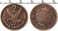Изображение Монеты Фолклендские острова 2 пенса 2004 Бронза UNC-