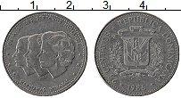 Продать Монеты Доминиканская республика 25 сентаво 1987 Медно-никель