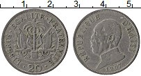 Изображение Монеты Гаити 20 сантим 1907 Медно-никель XF-