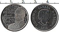 Изображение Монеты Канада 25 центов 2012 Медно-никель UNC-