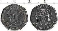 Изображение Монеты Ямайка 1 доллар 1999 Сталь UNC-