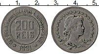 Изображение Монеты Бразилия 200 рейс 1931 Медно-никель XF