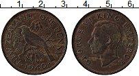 Изображение Монеты Новая Зеландия 1 пенни 1940 Бронза XF Георг VI